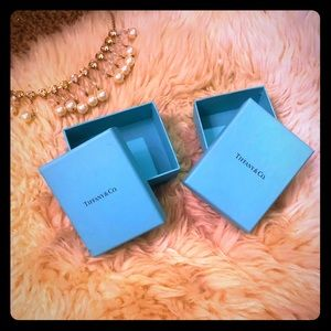 Two Tiffany & Co boxes PERFECT CONDITION